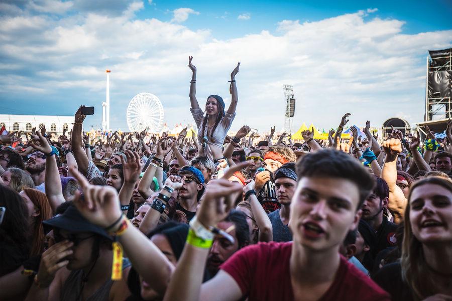 Pierce The Veil na Nova Rock 2017 festivalu (Foto: Roberto Pavić)