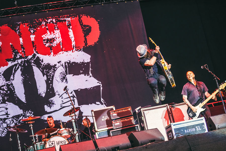 Rancid na Nova Rock 2017 festivalu (Foto: Roberto Pavić)