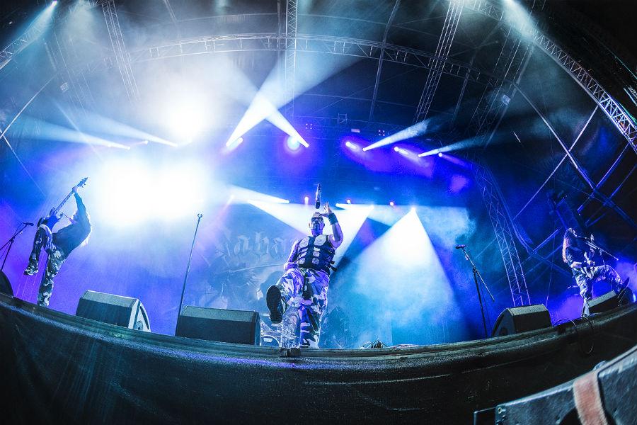 Sabaton na Nova Rock 2017 festivalu (Foto: Roberto Pavić)