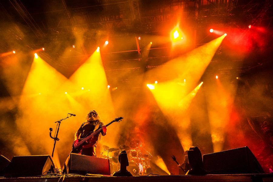 Slayer na Nova Rock 2017 festivalu (Foto: Roberto Pavić)