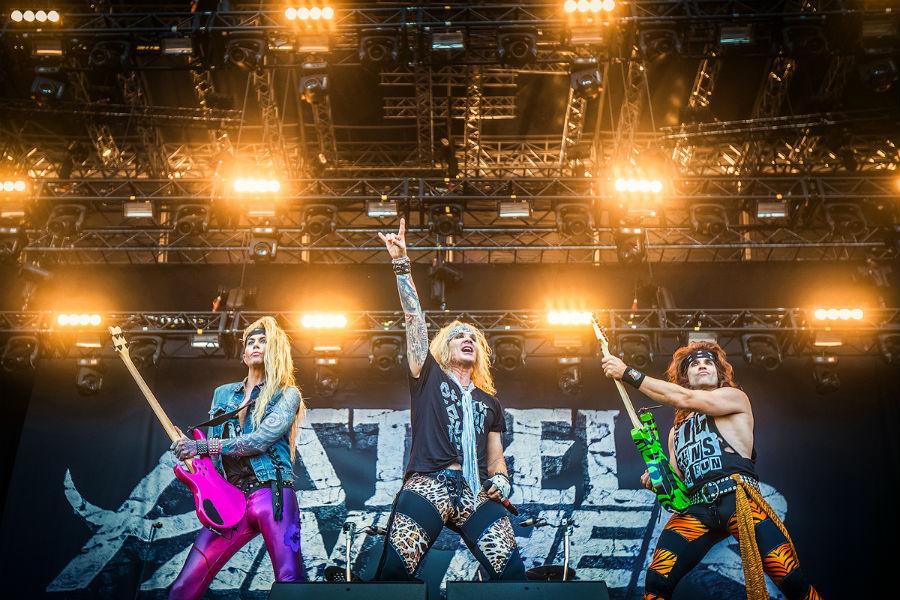 Steel Panther Slayer na Nova Rock 2017 festivalu (Foto: Roberto Pavić)