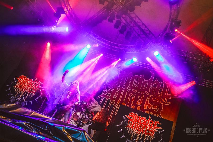 Suicidal Angels na Metaldays 2017 (Foto: Roberto Pavić)