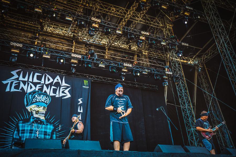 Suicidal Tendencies na Nova Rock 2017 festivalu (Foto: Roberto Pavić)