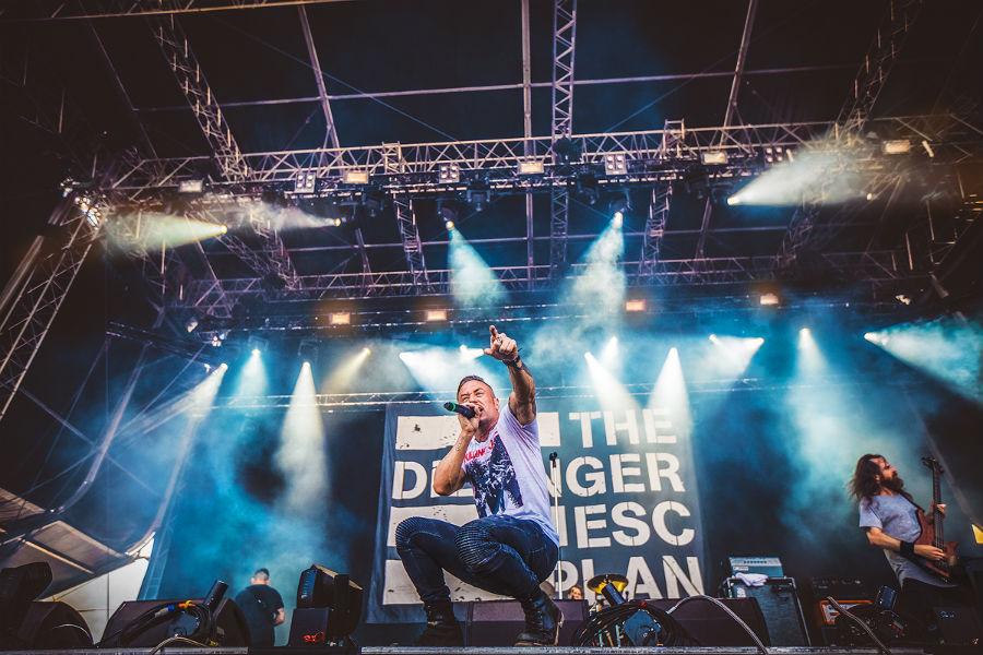 The Dillinger Escape Plan na Nova Rock 2017 festivalu (Foto: Roberto Pavić)