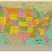 Umjetnički kolektiv rekonstruirao geografsku kartu SAD-a služeći se samo naslovima kultnih pjesama